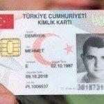 Yeni kimlik kartlarına ödenecek Tutar.!